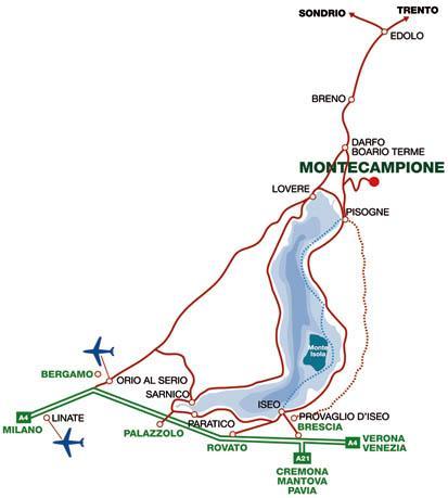 Montecampione map